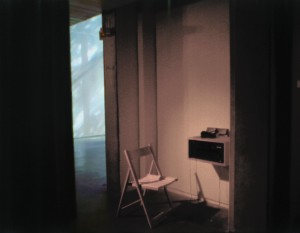 James Connolly Tower  (one of seven) Utopian proposal, Postcard  and sound piece, Douglas Hyde Gallery, 1999.